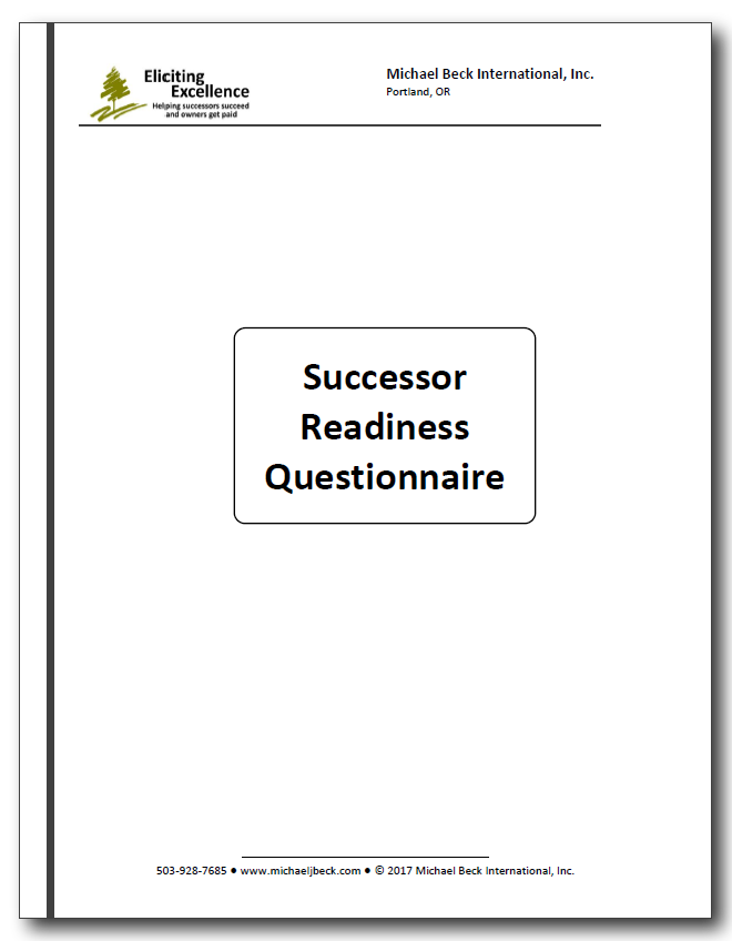 Successor Readiness Questionnaire